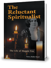 Book cover for the Reluctant S;iritualist